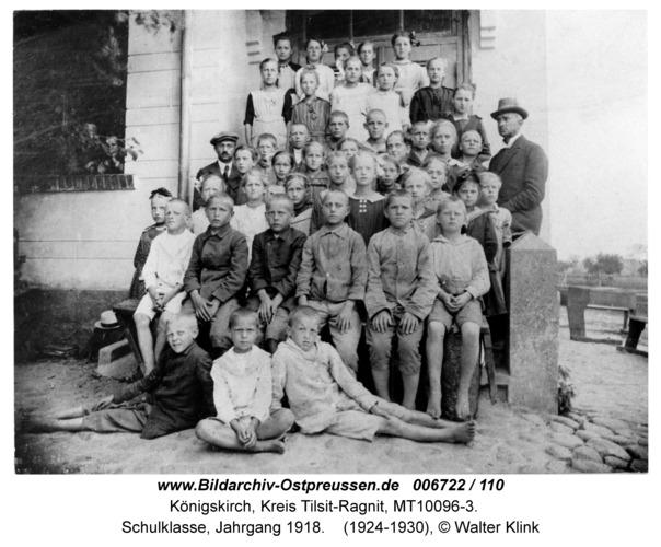 Königskirch, Schulklasse, Jahrgang 1918