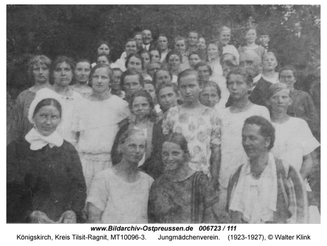 Königskirch, Jungmädchenverein
