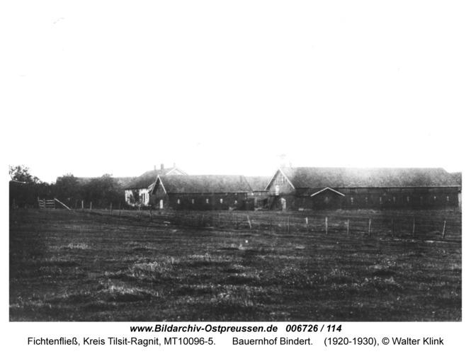 Fichtenfließ, Bauernhof Bindert