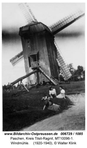 Paschen, Windmühle