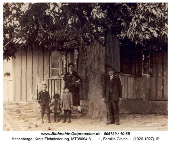 Hohenberge, 1, Familie Gleich