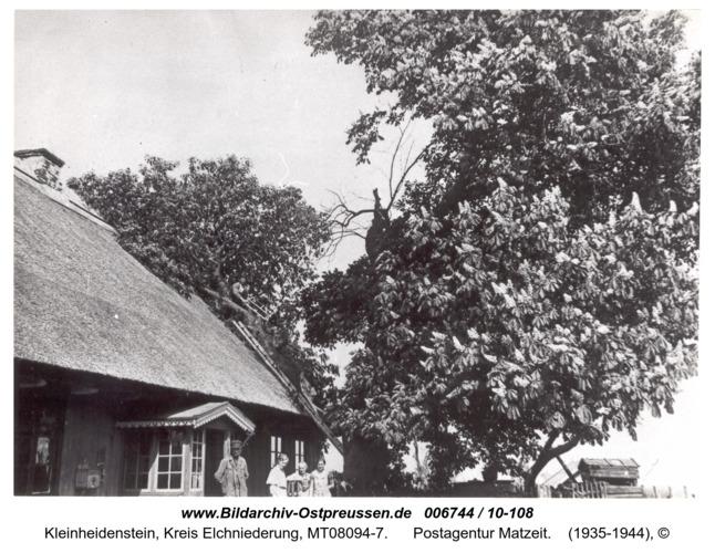Kleinheidenstein, Postagentur Matzeit