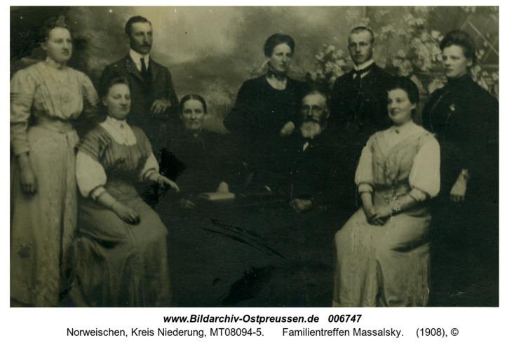 Norweischen, Familientreffen Massalsky
