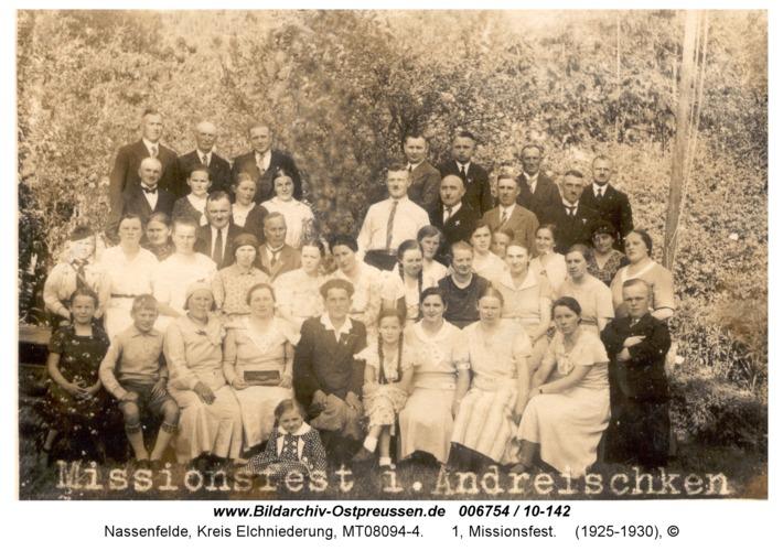 Nassenfelde, 1, Missionsfest