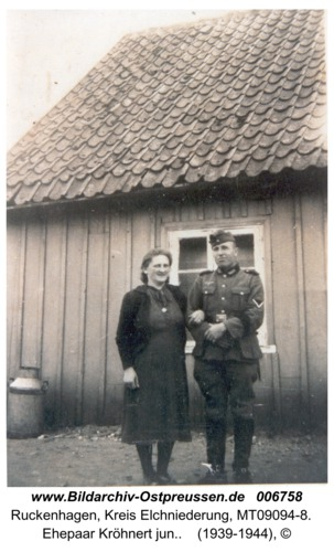 Ruckenhagen, Ehepaar Kröhnert jun.