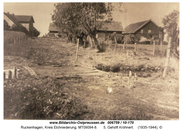 Ruckenhagen, 5, Gehöft Kröhnert