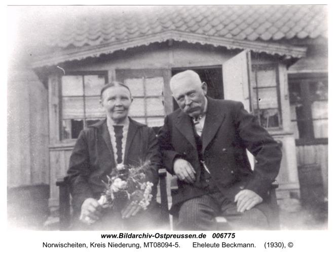 Norwischeiten, Eheleute Beckmann