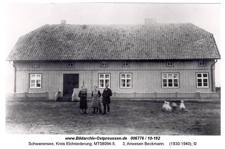 Schwanensee, 3, Anwesen Beckmann