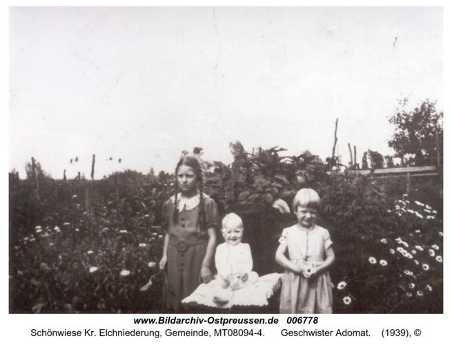 Schönwiese, Geschwister Adomat