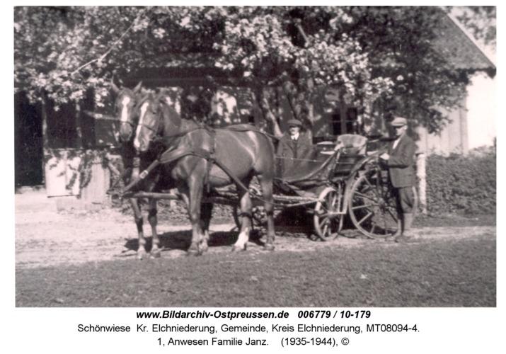 Schönwiese, 1, Anwesen Familie Janz