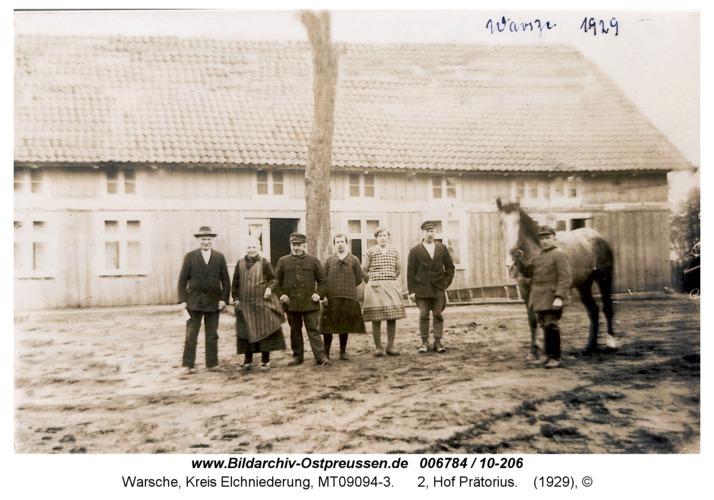 Warsche, 2, Hof Prätorius