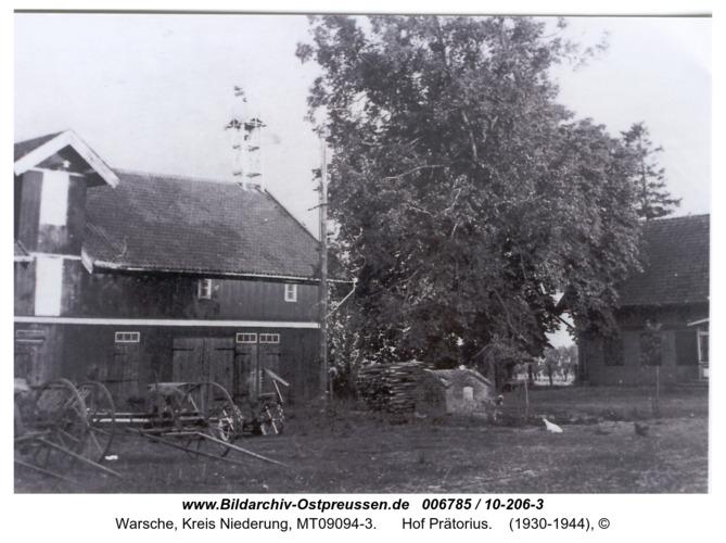 Warsche, Hof Prätorius