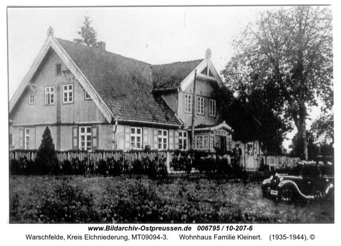 Warschfelde, Wohnhaus Familie Kleinert