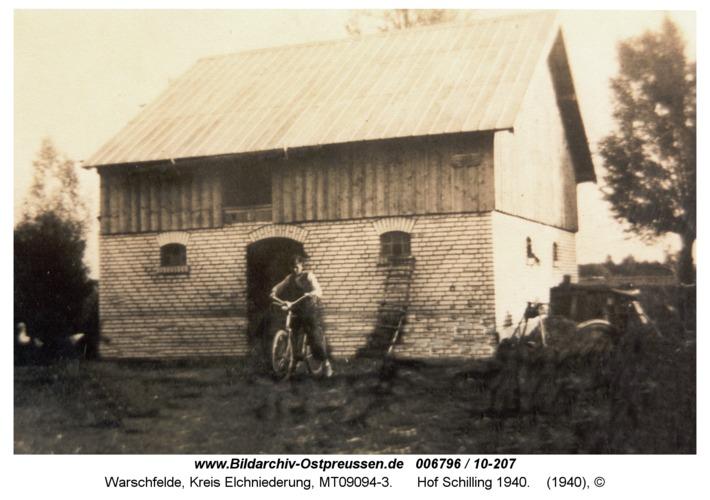 Warschfelde, Hof Schilling 1940
