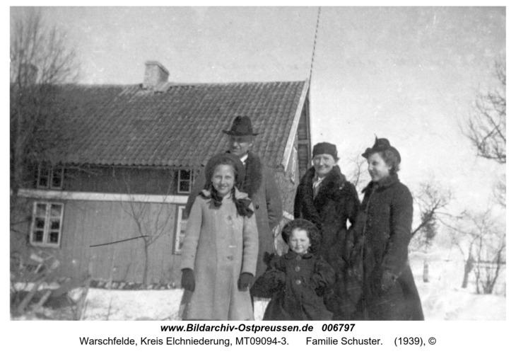 Warschfelde, Familie Schuster