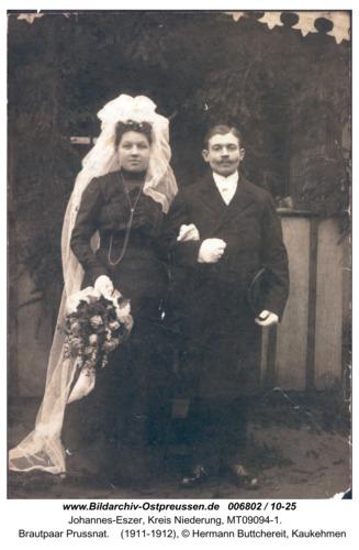 Johannes-Eszer,   Brautpaar Prussnat