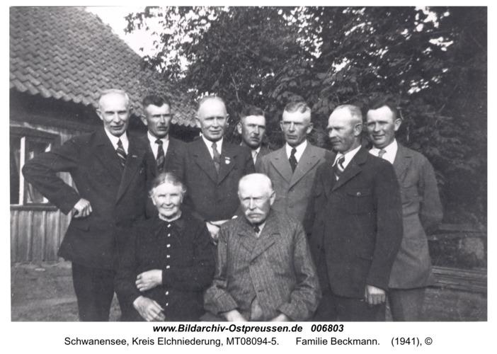 Schwanensee, Familie Beckmann