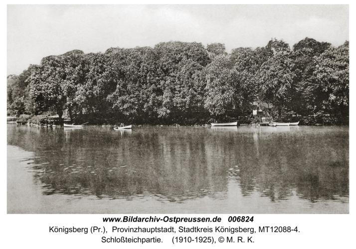 Königsberg, Schloßteichpartie