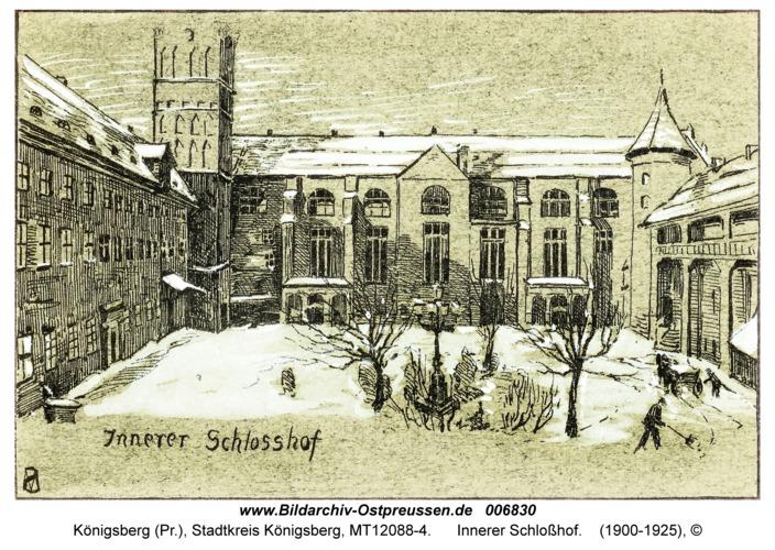 Königsberg, Innerer Schloßhof