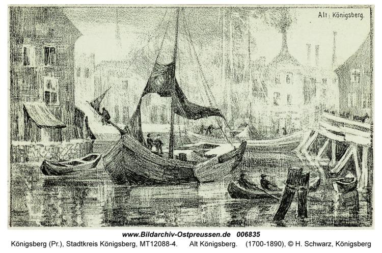 Königsberg, Alt Königsberg