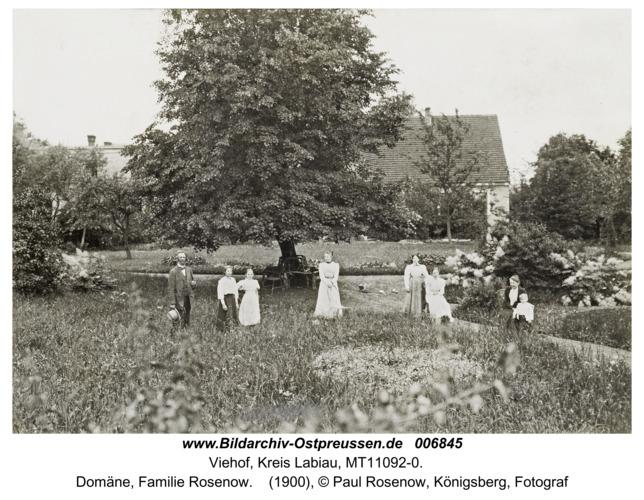 Viehof, Domäne, Familie Rosenow
