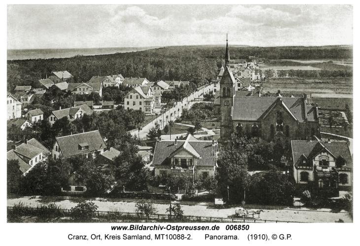 Cranz, Panorama