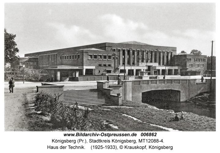 Königsberg, Haus der Technik
