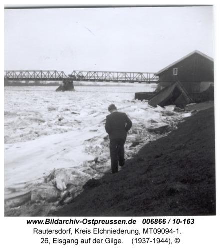 Rautersdorf, 26, Eisgang auf der Gilge