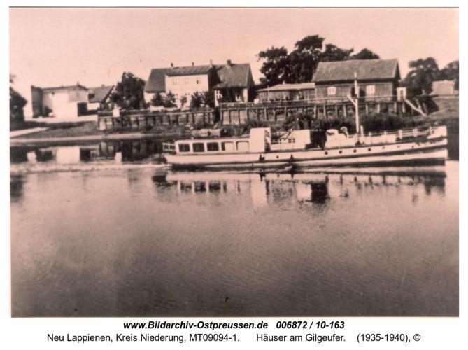 Rautersdorf, Häuser am Gilgeufer