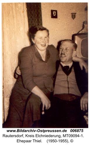 Rautersdorf, Ehepaar Thiel