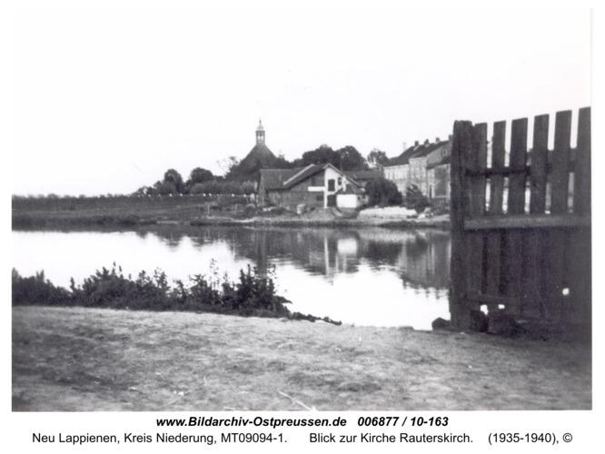 Rautersdorf, Blick zur Kirche Rauterskirch