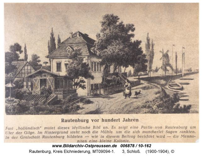 Rautenburg, 3, Schloß