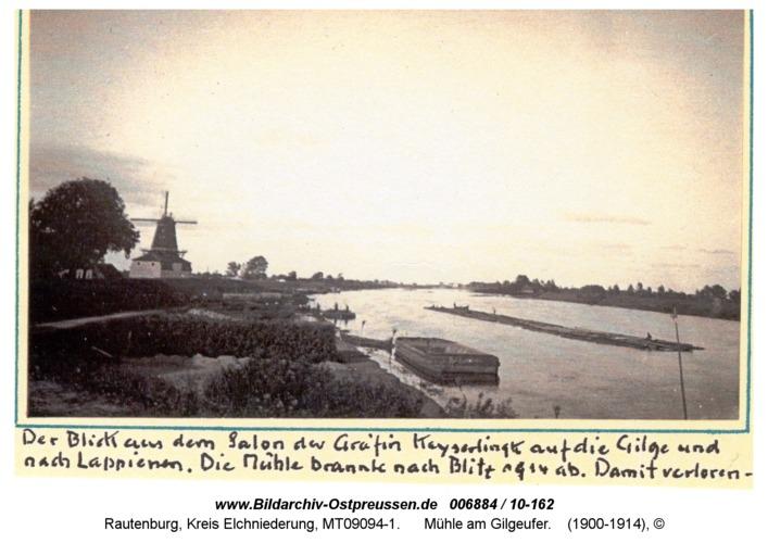Rautenburg, Mühle am Gilgeufer