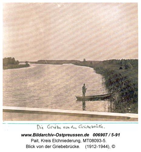 Pait, Blick von der Griebebrücke