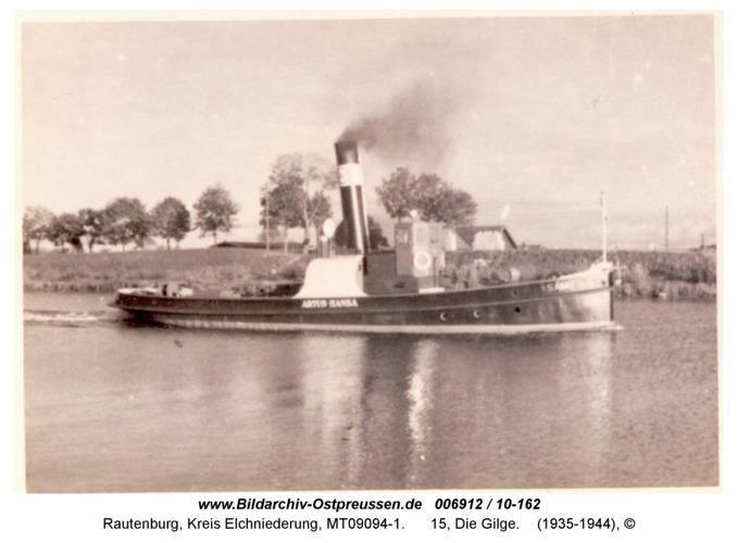 Rautenburg, 15, Die Gilge