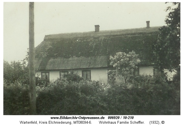 Wartenfeld, Wohnhaus Familie Scheffler