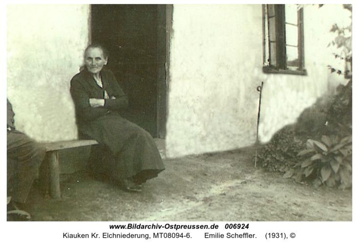 Wartenfeld, Emilie Scheffler