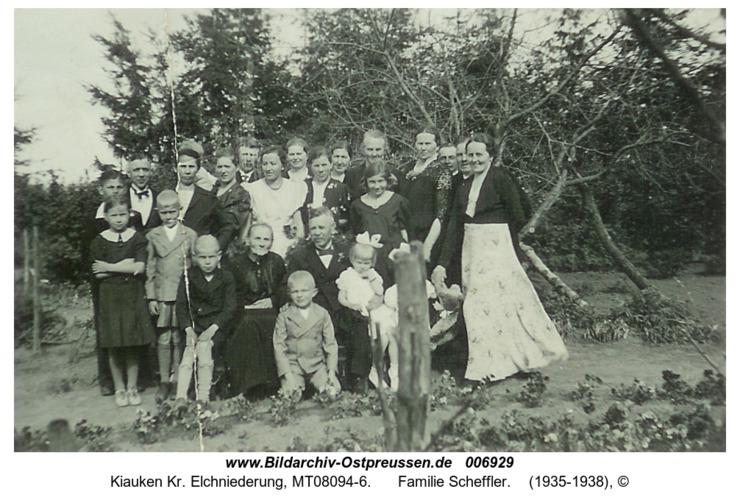 Wartenfeld, Familie Scheffler