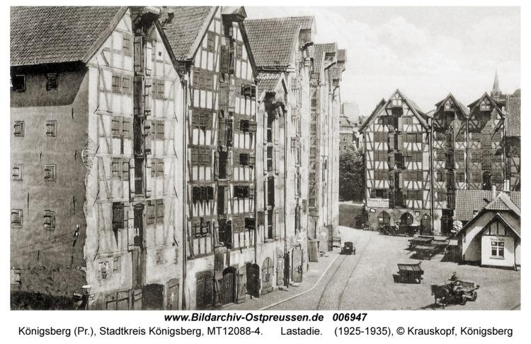 Königsberg, Lastadie