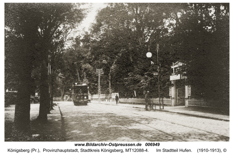 Königsberg, Im Stadtteil Hufen