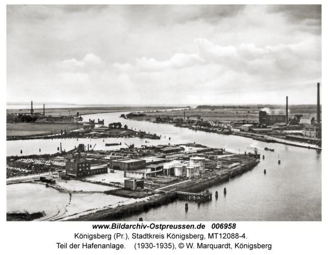 Königsberg, Teil der Hafenanlage