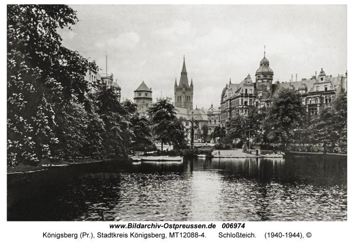 Königsberg, Schloßteich