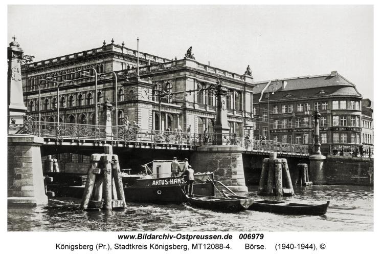 Königsberg, Börse