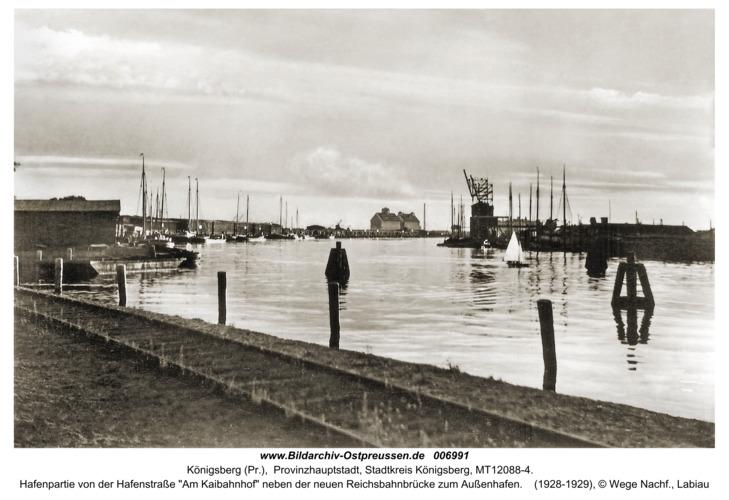 Königsberg, Hafenpartie