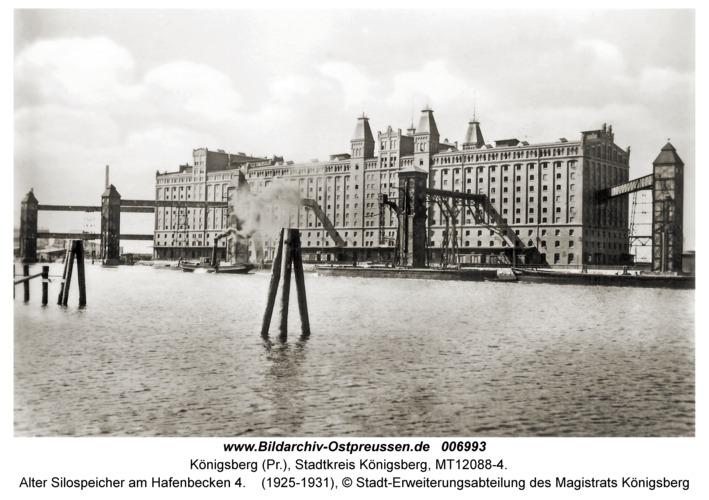 Königsberg, Alter Silospeicher am Hafenbecken 4