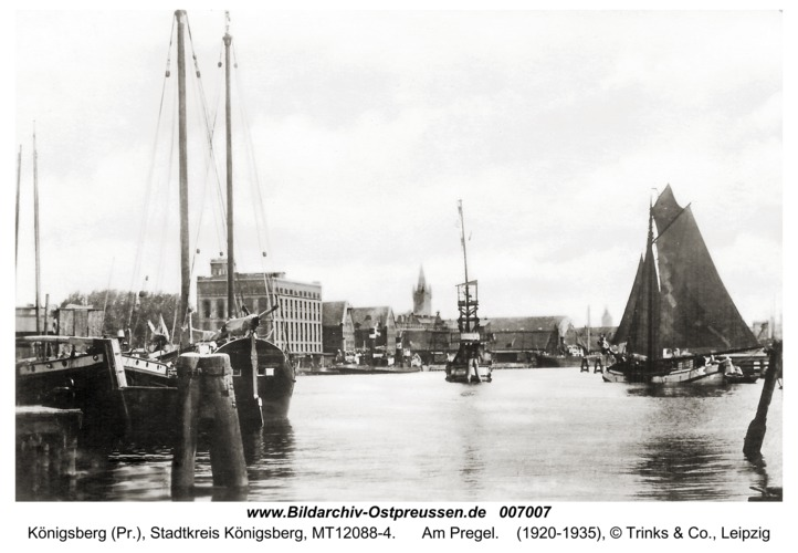 Königsberg, Am Pregel