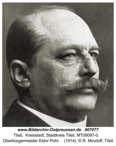 Tilsit, Oberbürgermeister Pohl