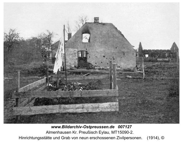 Almenhausen, Hinrichtungsstätte und Grab von neun erschossenen Zivilpersonen