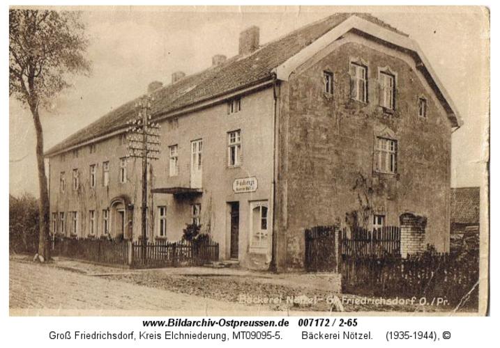 Groß Friedrichsdorf, Bäckerei Nötzel