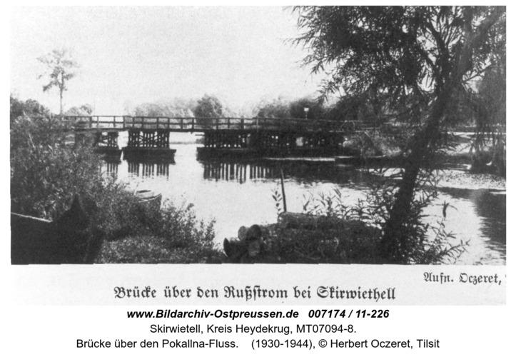 Skirwietell, Brücke über den Rußstrom